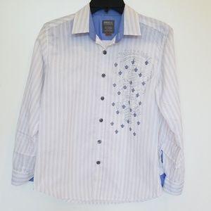 Cool boy's button down shirt. Size M (10/12)